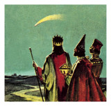 Three Wise Men Giclee Print by  English School
