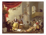 A Diablerie Giclee Print by Cornelis Saftleven