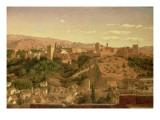 A View of Granada Giclee Print by Heinrich Hansen