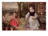 Spring, 1595 Giclee Print by Lucas van Valckenborch