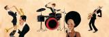 Hot Jazz I Art by  Andretti