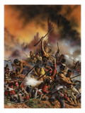 Maori Rebellion Giclee Print by Oliver Frey