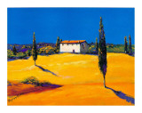 Summer in Provence I Print by B. Arroldi