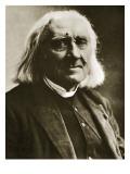 Franz Liszt Giclee Print by  Nadar