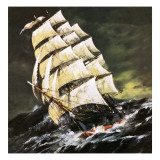 Tea Clipper Giclee Print by  English School