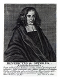 Baruch De Spinoza Giclee Print by Dutch School
