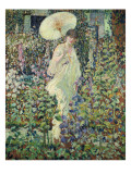 Sun and Wind Giclee Print by Frederick Carl Frieseke