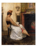The Letter Giclee Print by Henry John Hudson