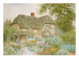 A Surrey Cottage Giclee Print by Arthur Claude Strachan