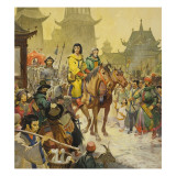 Marco Polo Giclee Print by  McConnell