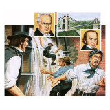 The Brunels Giclee Print by John Keay
