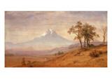 Mount Hood, 1863 Giclee Print by Albert Bierstadt