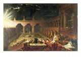 Belshazzar&#39;s Feast Giclee Print by John Martin
