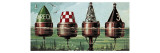 Buoys Giclee Print by  Escott