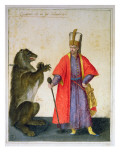 Janissary Giclee Print by Jacopo Ligozzi