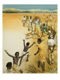 Aborigines Giclee Print by  Mcbride
