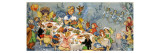 Fairy Tea Party Giclee Print by  English School