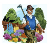 Gardener Giclee Print by  English School