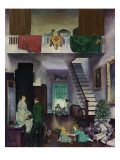 The Studio, 1919 Reproduction procédé giclée par George Wesley Bellows