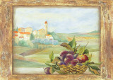 Fruit and Vista IV Print by Patrizia Moro