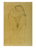 Seated Woman Reproduction procédé giclée par Gustav Klimt