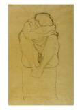 Seated Woman Giclee Print by Gustav Klimt