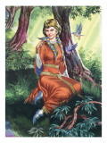 Maid Marian Giclee Print by Ron Embleton