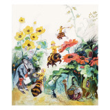 The Honey Fairies Giclee Print by Gerry Embleton
