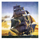 Cutty Sark Giclee Print by  English School
