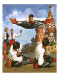 Russian Dancers Giclee Print by  English School