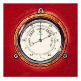 Barometer Giclee Print by English School