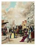 King Charles Ii Giclee Print by Ralph Bruce
