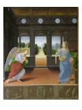 Annunciation Giclee Print by Lorenzo di Credi
