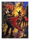 Guy Fawkes Night Giclee Print by  English School
