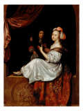 The Duet, 1665 Giclee Print by Regnier de La Haye