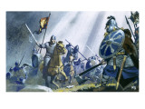 Battle of Hastings Giclee Print by Mcbride 