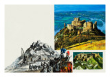 Chateau Gaillard Giclee Print by  Green