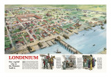 Londinium Giclee Print by Ralph Bruce