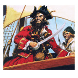 Pirate Giclee Print by  English School