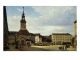 Spittelmarkt Giclee Print by  German School