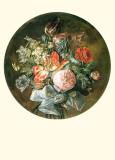 A Floral Bouquet II Print by L. Paret