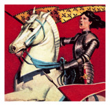 Joan of Arc Giclee Print by  English School