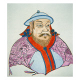 Kublai Khan Giclee Print by Chinese School