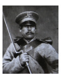 Russian Soldier Giclee Print by Russian Photographer 