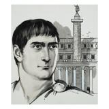 Emperor Trajan Giclee Print by  Mcbride