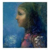 Profile Giclee Print by Odilon Redon
