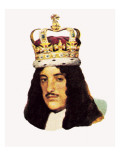 King Charles Ii Giclee Print by English School