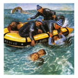 Operation Rescue Giclee Print by Clive Uptton