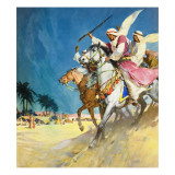 Arabs Giclee Print by McConnell 