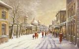 Streetscene I Print by Eric Erwin